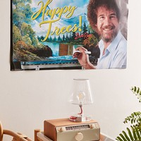 Bob Ross Happy Trees Poster | Urban Outfitters