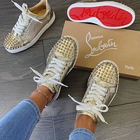 Best Fashion Gifts Christian Louboutin Fashionable leisure shoes