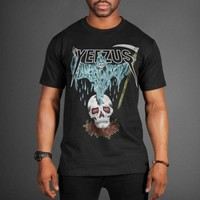 Kanye West Yeezus Death Skull Tour T-Shirt - WEHUSTLE | MENSWEAR, WOMENSWEAR, HATS, MIXTAPES & MORE