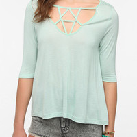 Silence and Noise Linear Prism Swing Top