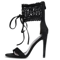 Cape Robbin Suzzy-88 Black Women's High Heel