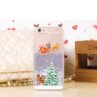 Silver Star Christmas Glitter iPhone Case – Cute Cravings