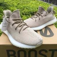 ADIDAS YEEZY BOOST 350 V2 KANYE WEST OREO DA9571 TAN RUNNING SHOES FOR WOMEN & MEN SIZE 36-46