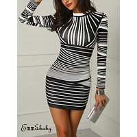 Retro Hot Sexy Women Stretchy Printed Package Hip Bodycon Bandage Mini Dress Girls Short Sexy Club Party Pencil Dress