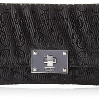 GUESS Halley Quilted Slim Clutch Wallet
