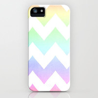 FREE SHIPPING on Watercolor Chevron Iphone Case  by CMcDonald | Society6
