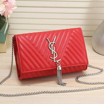 YSL Yves Saint laurent Women Fashion Leather Handbag Crossbody Shoulder Bag Satchel