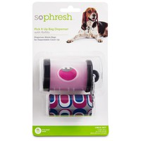 So Phresh Pick It Up Clear Dog Bag Dispenser with Refill | Petco Store