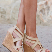 Step By Step Woven Wedges