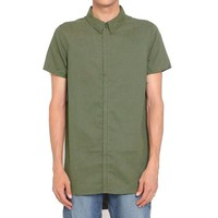 ONETOW Alacrity S/S Button Down in Olive