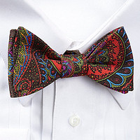 Ted Baker London Paisley Crazy Silk Bow Tie