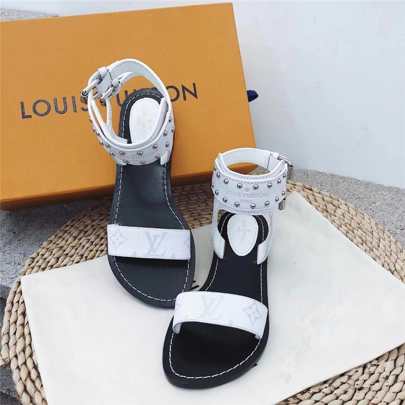 Image of 【Louis Vuitton】LV One word with flat bottom high boots