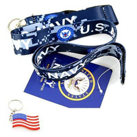 """Official Licensed Products Military """"US NAVY"""" Camo Lanyard-Brand New w/ Tags!v2"""