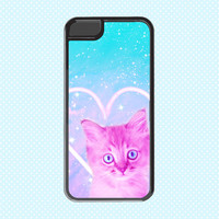 Funky Catsterz Heart Kitty iPhone 5, iPhone 6 Case, 6 Plus, 6+ Case, I Heart Cats
