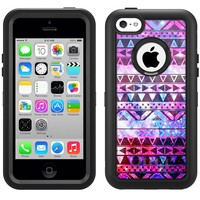 Otterbox Apple iPhone 5C Defender Case Aztec Nebula Galaxy Black