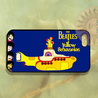The Beatles - Yellow Submarine  - iPhone 5, iphone 4s, iphone 4, Samsung Galaxy S3-Silicone Rubber or Hard Plastic Case, Phone cover