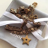 Dior Hot Sale Fashion Vintage Lady Letter Necklace