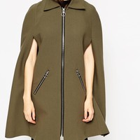 ASOS Cape in Retro Styling