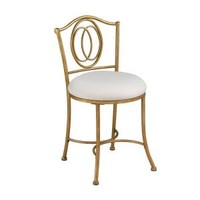 Hillsdale Furniture Emerson Vanity Stool 50945 at The Home Depot - Mobile
