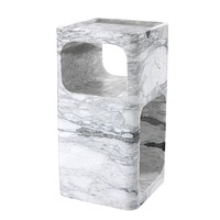 White Marble Side Table | Eichholtz Adler