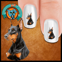 Doberman Look at me Nail Art (NOW 50% MORE FREE)