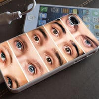 eyes one direction iphone case, iphone 4s case, iphone 5 case, samsung s3 and samsung s4 case