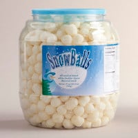 White Cheddar Snowballs Tub - World Market