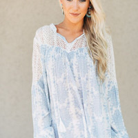 Little Secrets Laced Bohemian Blouse