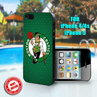 BOSTON CELTICS - Print on Hard Case - Fit For iPhone 4,4S, and 5 - Please leave a message for your iPhone Case & Color Case