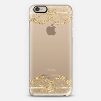 Double Faux Gold Romantic Lace iPhone 6 case by Organic Saturation | Casetify