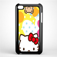 Hello Kity Patterns iPod Touch 4 Case