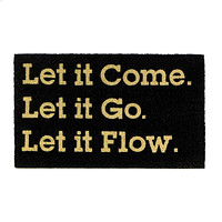NALA LET IT COME COIR DOORMAT