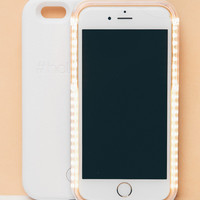 LED Selfie Case for iPhone 6/6S - White