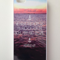 Hebrews 6:19 iPhone Case - iPhone