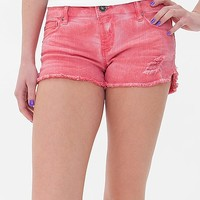 15 FIFTEEN Washed Dolphin Stretch Short