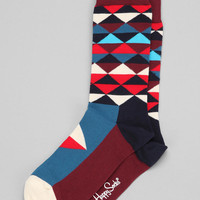 Happy Socks Triangle Sock - Urban Outfitters