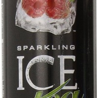Sparkling ICE Tea Raspberry Tea 17 Fluid Oz Bottles - Case of 12