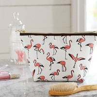 FLAMINGO COSMETIC POUCH
