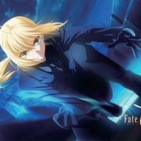 Great Eastern Entertainment Fate/Zero Saber Wall Scroll, 33 by 44-Inch