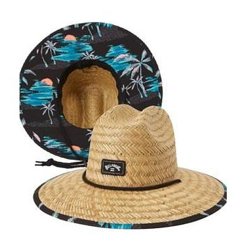 Billabong Tides Print Straw Hat