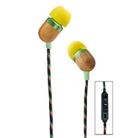 HOUSE OF MARLEY Smile Jamaica Three-Button Remote Microphone Earbuds