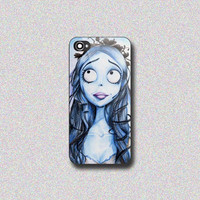 Tim Burton Corpse Bride - Print on Hard Cover for iPhone 4/4s, iPhone 5/5s, iPhone 5c - Choose the option in right side