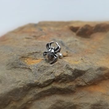 Spider Cartilage 16ga Tragus Helix Earring Body Jewelry