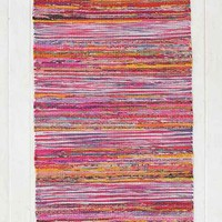 Magical Thinking Ikat Stripe Rag Rug