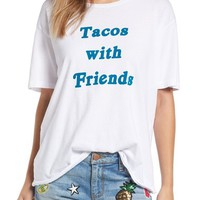 Project Social T 'Tacos with Friends' Oversize Tee   Nordstrom