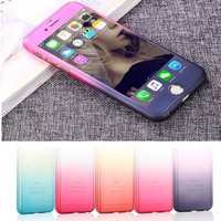 Front and Back Phone Case For iPhone For iPhone 6 6S 6Plus +Nice Gift Box !