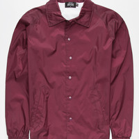 Rook Team Rook Mens Jacket Burgundy  In Sizes
