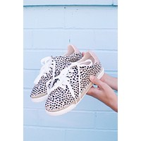 Lucia Espadrille Lace Up Sneaker, Cheetah