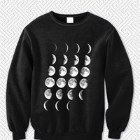 Moon Phases Sweater Man and Sweater Woman