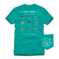 """""""The Bluewater Collection"""" Tee - Seafoam"""
